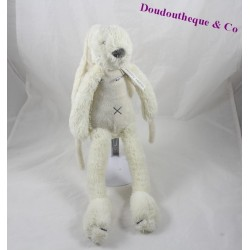 Plush musical rabbit HAPPY HORSE beige cross down 40 cm