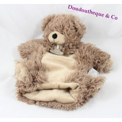 Doudou puppet bear bear story Brown Pocket HO2367 27 cm