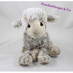 Peluche mouton CREATIONS DANI beige 28 cm