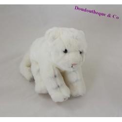 Peluche tigre blanc ZOOPARC DE BEAUVAL blanc 21 cm