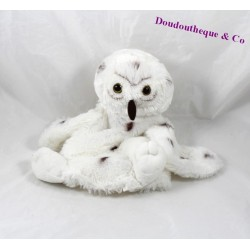 Doudou puppet fun CREATIONS DANI 24 cm white Brown OWL