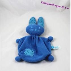 Doudou plat lapin LIEF ! Lifestyle bleu étoile 18 cm