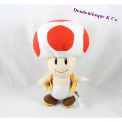 Stuffed Toad SUPER MARIO Nintendo mushroom 20 cm