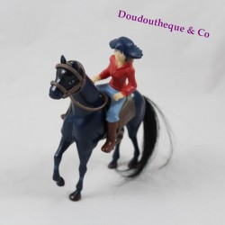 Figurine le Ranch QUICK Lena et son cheval Mistral 12 cm