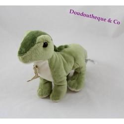 Peluche Maiasaura dinosaure HISTOIRE D'OURS vert 16 cm