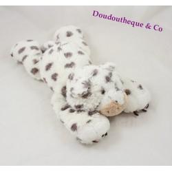 Peluche léopard HAPPY HORSE gris blanc 36 cm