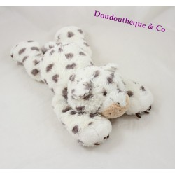 Plush leopard HAPPY HORSE grey white 36 cm