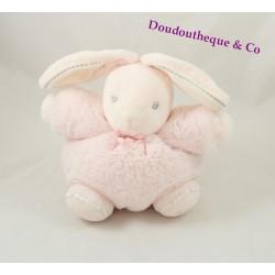 Doudou ball rabbit KALOO Light pink pearl little rabbit 18 cm