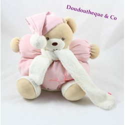 Teddy bear budderball KALOO Winter Follies pink scarf 30 cm