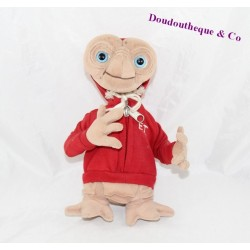 Peluche E.T extraterrestre SAFETY TOYS Sweat rouge capuche 25 cm