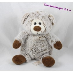 RODADOU RODA grey brown 23 cm bear blankie