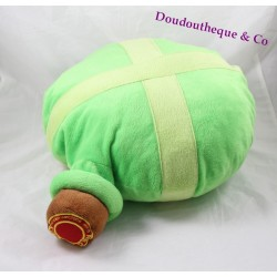 Cushion stuffed gourd potion magic Park ASTERIX of Asterix and Obelix green 47 cm