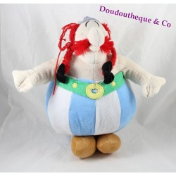 Plush Obelix Park ASTERIX Asterix and Obelix coat of arms under the foot 40 cm