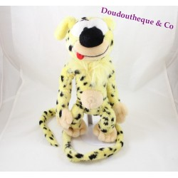 Plush Marsupilami AJENA Teddy tasks yellow black 30 cm