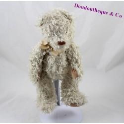 Teddy bear MOULIN ROTY beige hair long 25 cm