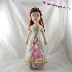 Plush Princess Fiona DREAMWORKS Shrek married dress 43 cm