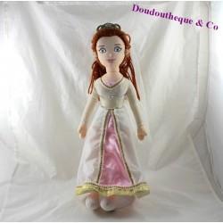 Peluche princesse Fiona DREAMWORKS  Shrek robe mariée 43 cm