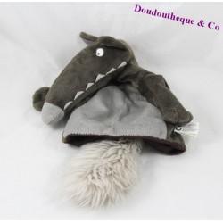 Doudou puppet Wolf AUZOU P' puddin 20 cm