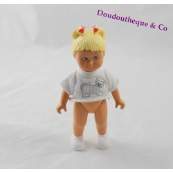 Blonde doll LEGO DUPLO t-shirt cat vintage 15 cm