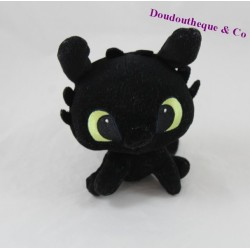 Plush baby toothless DREAMWORKS HEROES Dragons black 14 cm