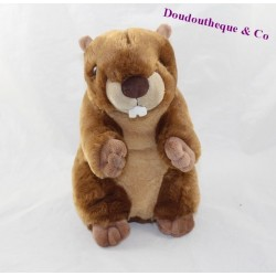 Plush Marmot CREATIONS DANI brown beige Beaver 25 cm