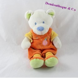 Teddy bear words children's orange yellow chick 25 cm