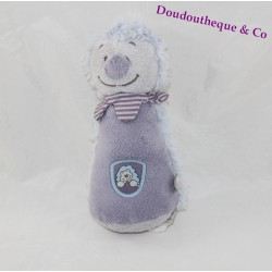 Rattle pouet pouet Merlin Hedgehog NOUKIE's Arthur and Merlin purple toy baby