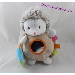 Plush Hedgehog GLOWORM Jemini mushroom mirror 23 cm activities