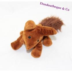 Peluche renard COTTONBLUE Le Petit Prince marron 24 cm