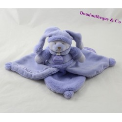 Teddy bears DOUDOU and soft purple petal macaroon company