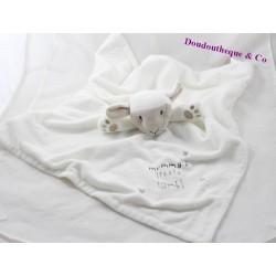 Doudou flat PRIMARK EARLY DAYS Mummy's little lamb sheep! White 44 cm