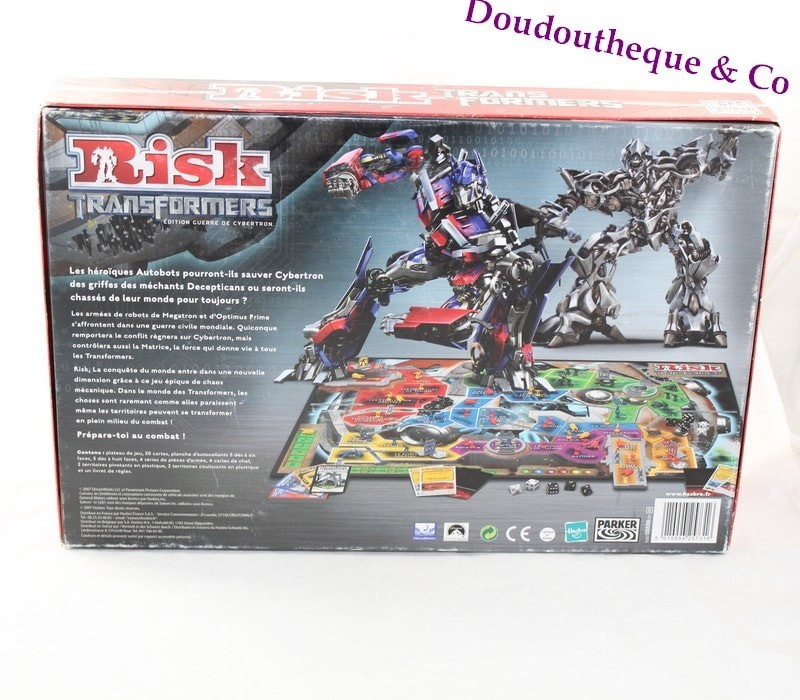 Jeu de société Risk Transformers PARKER Guerre de cybertron 2-4 jou...