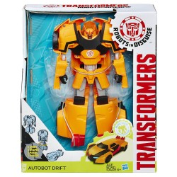 Robot Transformers HASBRO Robots in Disguise Autobot Drift