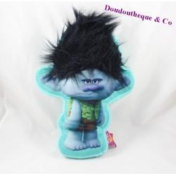 Plush cushion DREAMWORKS Trolls branch 34 cm Blue