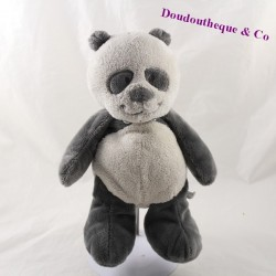 Stuffed panda NOUKIE's Louis and Scott Gray 26 cm
