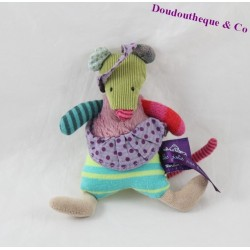 Mini plush mouse MOULIN ROTY steps pretty beautiful 13 cm