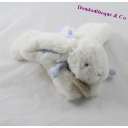 Doudou lapin DOUDOU ET COMPAGNIE Mon tout petit bleu bonbon DC1238 18 cm