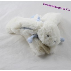 Doudou rabbit DOUDOU AND COMPAGNIE My tiny candy blue DC1238 18 cm