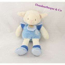Plush Gaston sheep DOUDOU and the Z company ' blue amigolos 22 cm