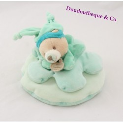 Bears Doudou DOUDOU and company Green 15 cm Carom bear