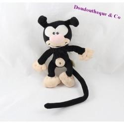 Plush black baby JEMINI Marsupilami 18 cm