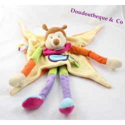 Doudou tatoo Bumblebee DOUDOU and company orange yellow green