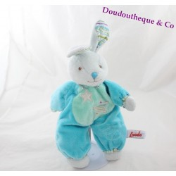 Don semi flat fluorescent blue TOODO rabbit star 34 cm
