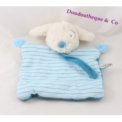 Dog flat Doudou sugar attached blue lollipop natural