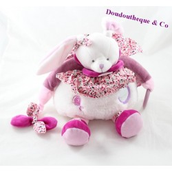 Doudou of activity Bunny BLANKIE and company cherry of awakening white Mallow DC2705 31 cm