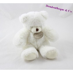 Teddy musical bear BLANKIE and white company DC2233 20 cm