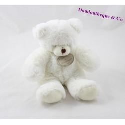 Teddy musical bear BLANKIE and white company DC2233 20 cm