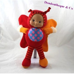 Plush doll Butterfly CASINO red dots and stripes Patrick 28 cm