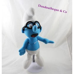 Plush Smurf with glasses PLAY BY PLAY the 22nd Peyo Smurfs 37 cm