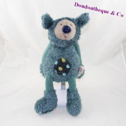 Doudou Baba koala MOULIN ROTY bleu Les Zazous